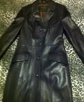Пальто из натуральной кожи (импорт), меховые жилетки из чернобурки, Санкт-Петербург