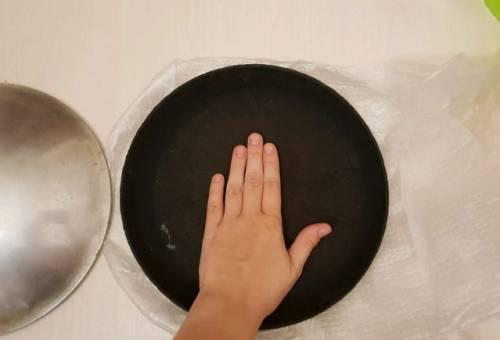 Чугунная сковорода блинница