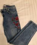 Фасон платья с баской, джинсы Zara новые