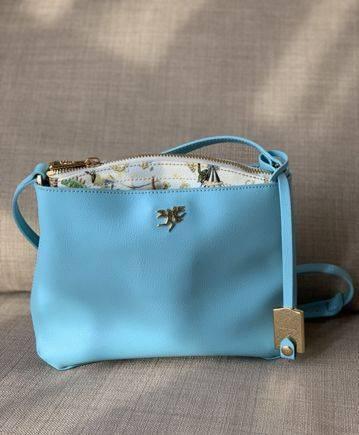 Маленькая сумка из натуральной кожи(Piero Guidi)