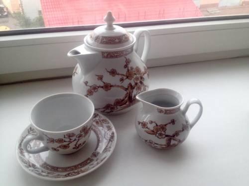 Чайный комплект (часть) СССР