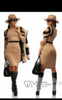 Платье новое, платья из льна и хлопка больших размеров, Большая Ижора