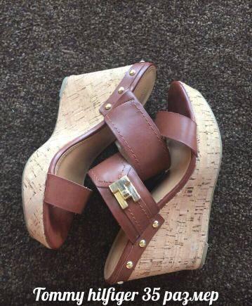 Tommy Hilfiger сабо 35 размер, женская обувь опт и розница