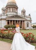 Лаконичное свадебное платье, платья для матери невесты 2018