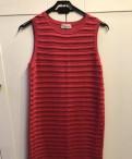 Платье горчичного цвета для полных, платье Red Valentino