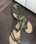 Тапочки на каблуке акции, сандалии Gucci