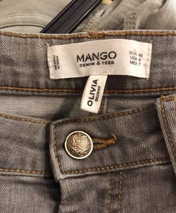 Платье сверху приталено с рукавами а низ юбка пышная, джинсы Mango