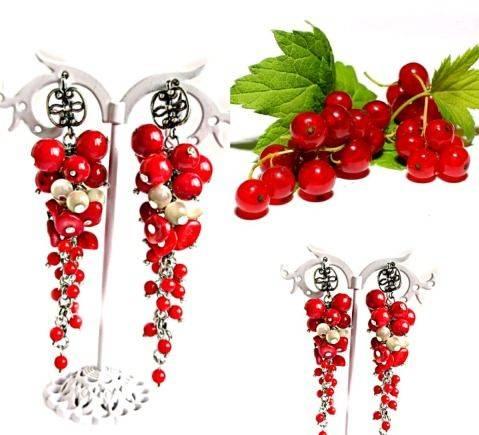 Серьги- грозди