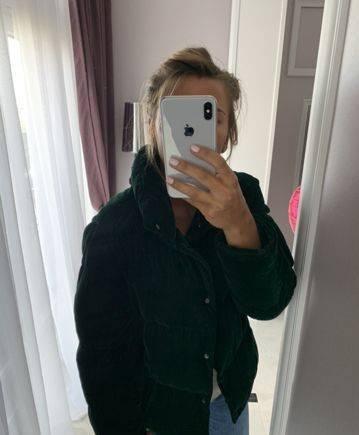 Куртка Zara, черника магазин одежды