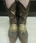 Сапоги из кожи питона, ботинки для треккинга мужские salomon