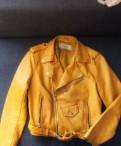 Куртка (кож. зам), платье рубашка с джинсами