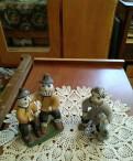 Каргопольские игрушки из глины, времён СССР