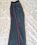 Платье футляр трикотажное с длинными рукавами, брюки с лампасами Zara