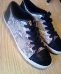 Осенние туфли женские на низком каблуке, кеды Ralf Ringer 38 р