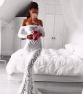 Вечернее платье(прокат), красное платье с сеткой сверху