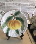 Тарелка декоративная японская майолика