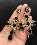 Серьги кресты в стиле Dolce & Gabbana, новые