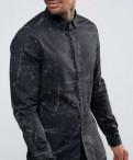 Новая рубашка ASOS / M, джинсовые куртки мужские недорого