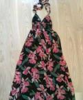 Платье рубашка с пуговицами спереди, платье