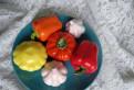Овощи керамика. Керамика ручной работы декор