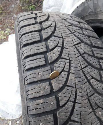 Шина на форд фокус, зимние шины 235/55/r19 Pirelli