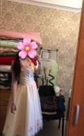 Вечернее платье, платья из шифона в горох лето