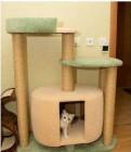 """Когтеточка домик для кошки 110см """"Гулливер"""" нн"""