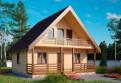 Загородный дом с балконом и верандой 6х6, мдк-63-1