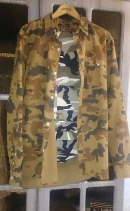 Джинсы-штаны карго +рубашка, Милитари-камуфляж, спортивные костюмы теплые больших размеров женские