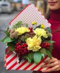 Цветочный конверт - «Любовное послание»