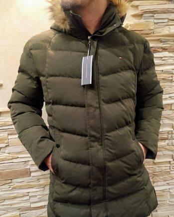 Куртка Tommy Hilfiger цвет хаки новая, футболки флэш купить