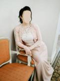 Платье с пышной юбкой под горлышко, кардиган свадебный Karen Millen
