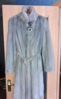 Шуба норка голубая 110см Saga mink, платье макси с цветочным принтом boohoo