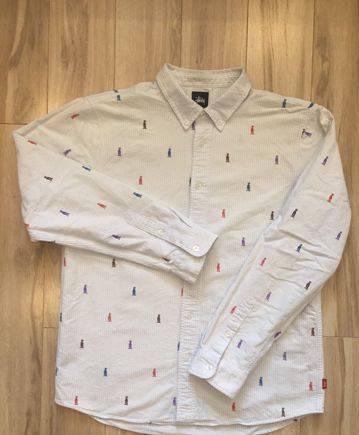 Adidas manchester united толстовка, рубашки Stussy, Van Laack