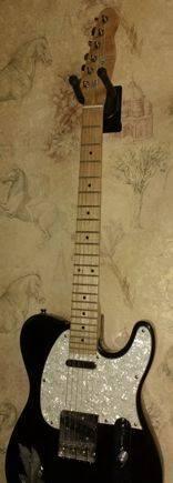 Мастеровая гитара в форм-факторе telecaster