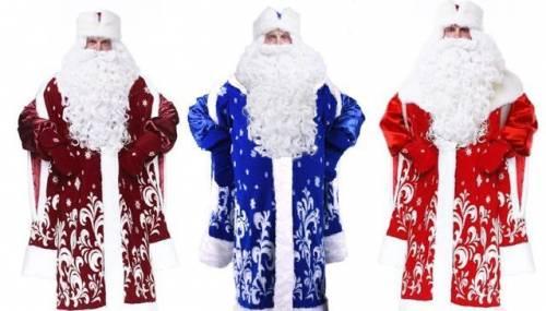Костюм Деда Мороза, купить мужской пуховик богнер