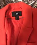 Длинная футболка до колен, пиджак H&M Xs