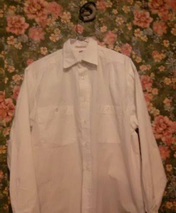 Мужские черные джинсовые шорты, рубашка белая ottentot co хлопок Англия