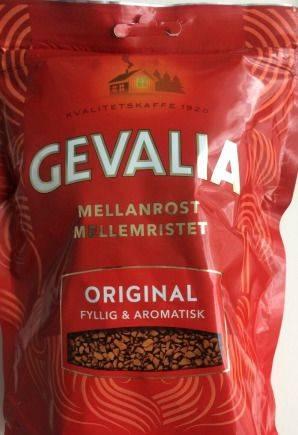 Кофе растворимый Гевалия ориг Gevalia из Финляндии
