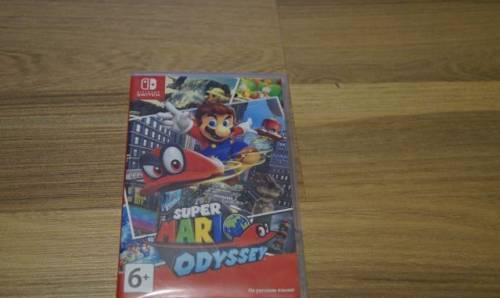 Игра Super Mario Oddisey