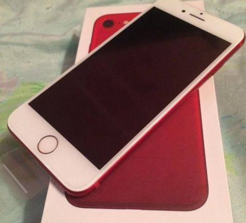 IPhone 7 32 gb RED