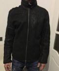 Дубленка натуральная немецкая Herrmann оригинал, куртка зимняя мужская 66 размер