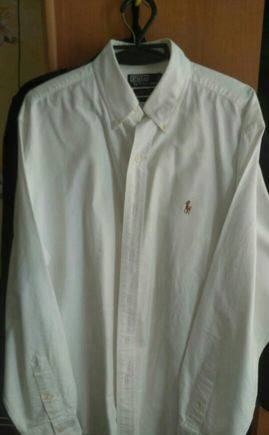 Рубашки зара с нашивками, рубашка Polo Ralph Lauren Оксфордская