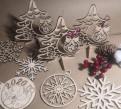 Новогодние сувениры из дерева, Волхов