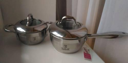 Новая посуда taller (ковшик и кастрюля)
