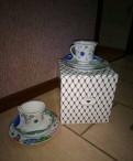 Набор посуды Императорского фарфорового завода лфз